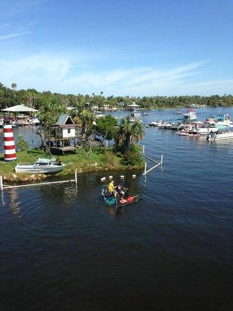 Homosassa Riverside Resort : Monkey Island!