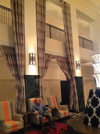 The Mayo Hotel: salao de recepção