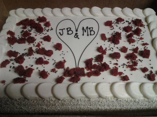B.K. Bakery: special occasion cake