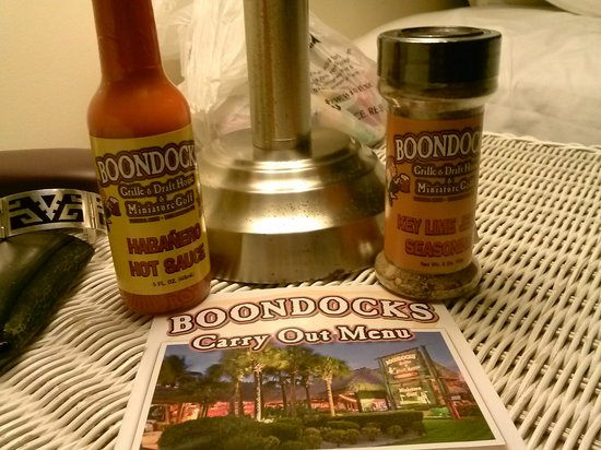 Boondocks Grille & Draft House : I can't wait to cook with these!