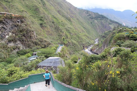 Zoologico de San Martin: its built onto the hillside