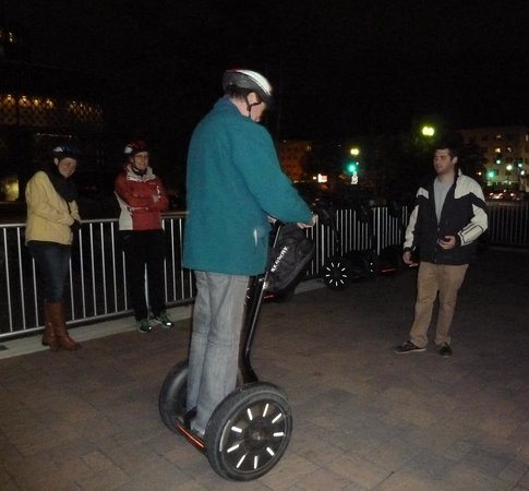 City Segway Tours DC: Lesson before we started