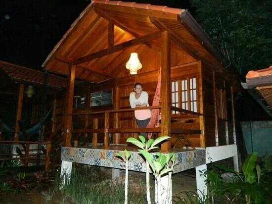 Aratinga Inn: Eu no chalé