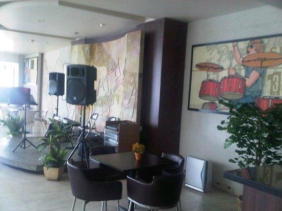 Amalia Hotel: Lounge dan tempat bersantai