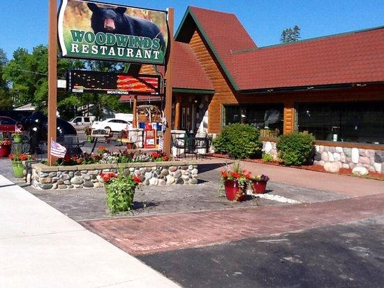 Wood Winds Restaurant & Pizzeria: Woodwinds Restaurant Bear