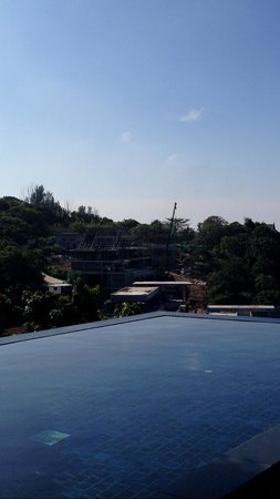 Paresa Resort Phuket : View from Cielo suite on construction