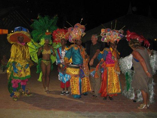 Sunscape Curacao Resort Spa & Casino: Carnival entertainment