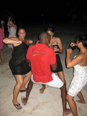 Sunscape Curacao Resort Spa & Casino: dancing at the beach party