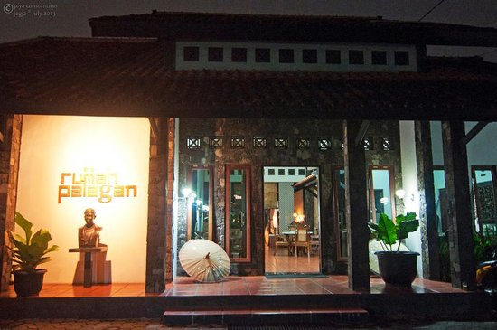 Rumah Palagan Yogyakarta: entrance