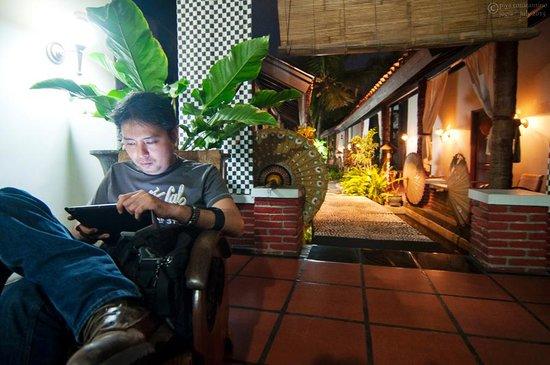 Rumah Palagan Yogyakarta: from lobby