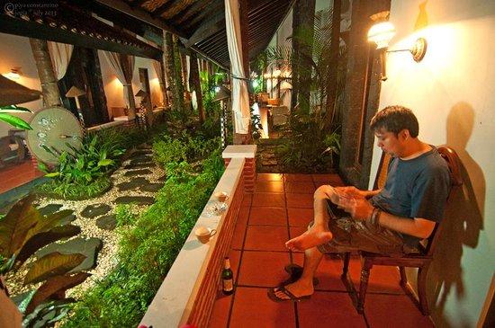 Rumah Palagan Yogyakarta: outside of room