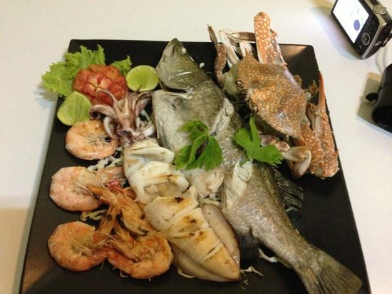 rct restaurant: Mixed seafood