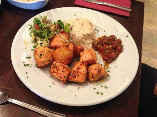 Ottoman Turkish Newcastle: chicken shish :)
