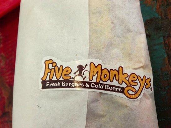 Five Monkeys - Fresh Burgers & Cold Beers: five monkeys
