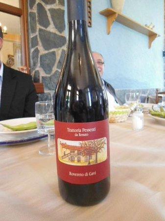 Trattoria Pesenti : Um bom vinho da região