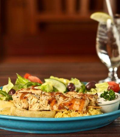 Gorge Country Kitchen: Chicken Souvlaki Dinner
