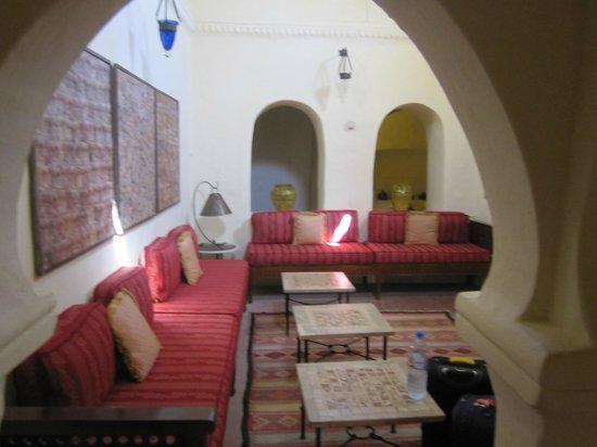 Dar Dhiafa: The reception lounge.
