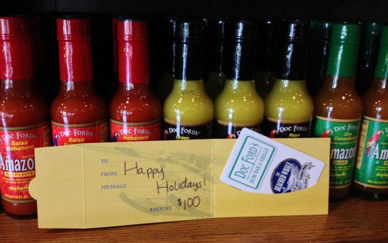 Doc Ford's Rum Bar & Grille Captiva : gift cards