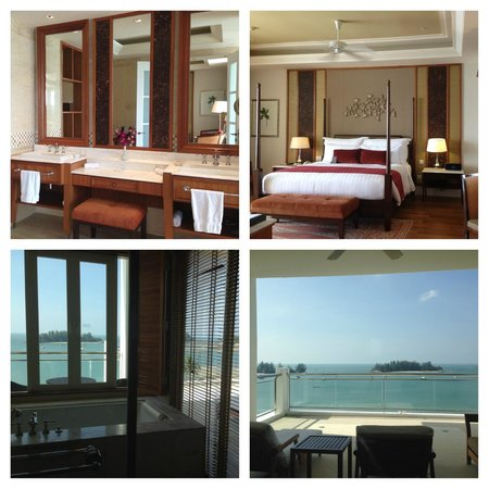 The Danna Langkawi, Malaysia: Huge room with awesome view - Grand Viceroy