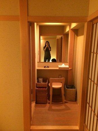 Kyomachiya Ryokan Sakura Honganji: Make up area