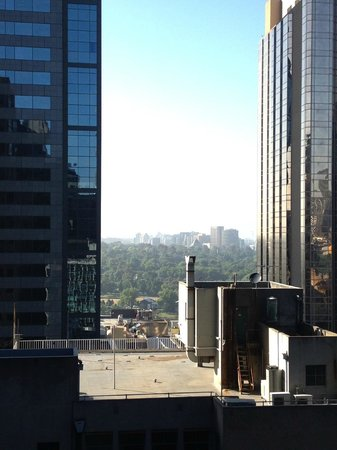 Stamford Plaza Melbourne : view from patio