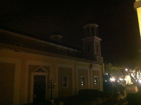 Howard Johnson Inn Downtown Mayaguez PR : Cathedral view
