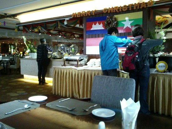 Gaoye Hotel: Good breakfast. Lots of items available.