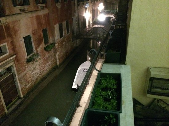 Locanda Canal: View from the balcony