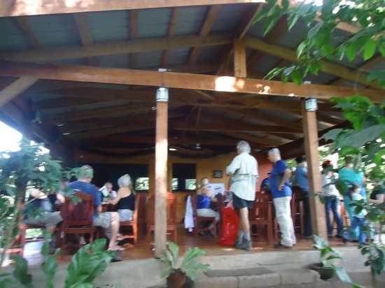 The Grill at Mombacho Lodge: Mombacho Grill