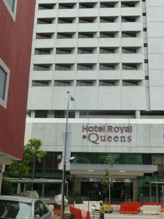 Hotel Royal at Queens : Front of hotel from lane opposite.