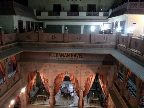 Heritage Kuchaman: Hotel view from the rooftop resto
