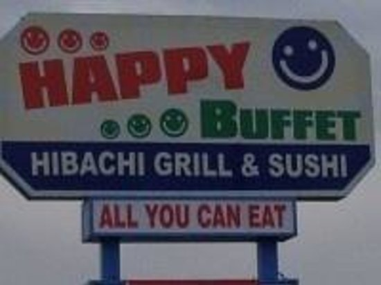 We wish you will be HAPPY every time when you visit Happy Buffet