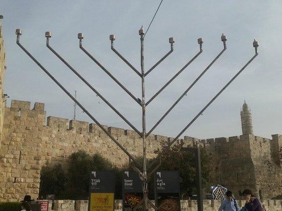 Old City of Jerusalem: a view of Jerusalem