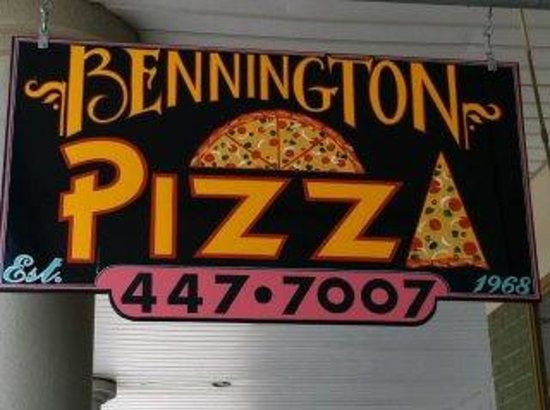 Bennington Pizza Plaza : Great Pizza and Subs!!!