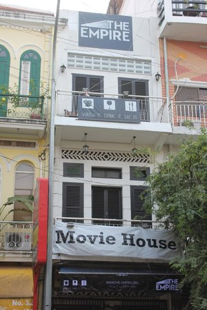 The Empire Movie House (now located inside SPLASH BAR) : Our frontage in the daytime