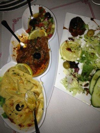 Restaurante Arrayanes: Appetizer Sampler, delish!