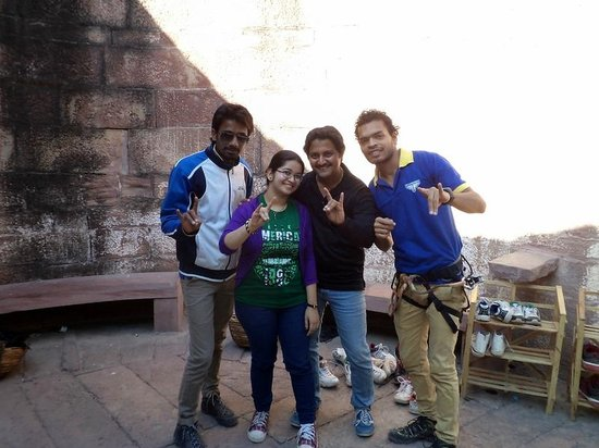 Flying Fox Jodhpur: With Flying fox team members