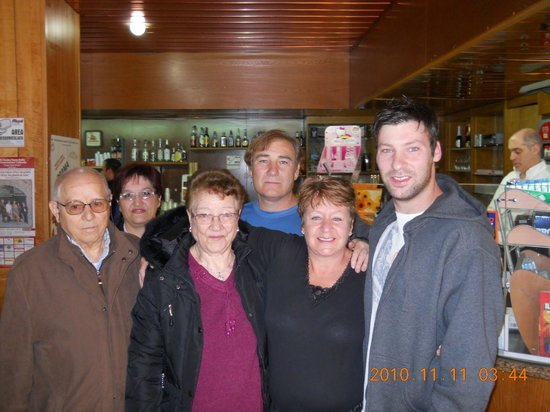 Dino's Hotel : A SWEET MEETING OF LONG LOST RELATIVES IN THE COFFEE SHOP OF DINO'S.