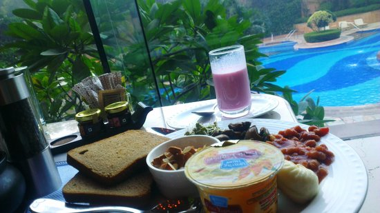Sheraton New Delhi : Breakfast