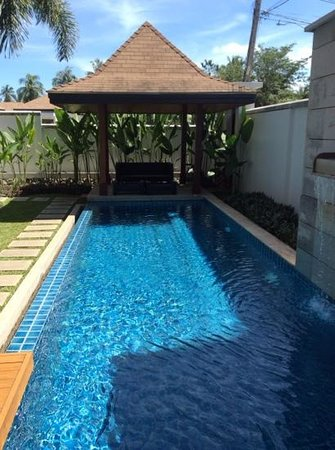 Two Villas Holiday Oriental Style Naiharn Beach: Our own private pool...