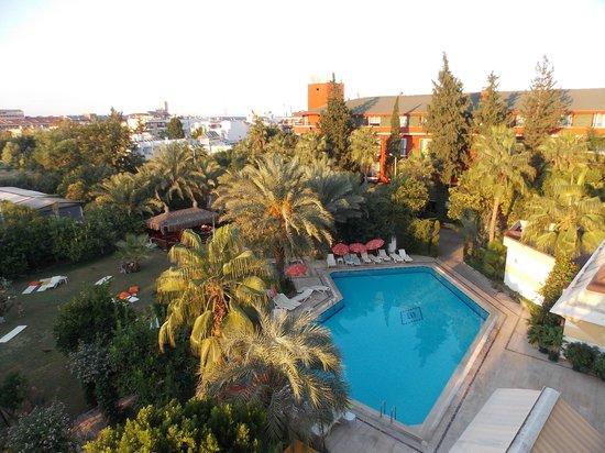 Asdem Park Hotel: Вид на бассейн