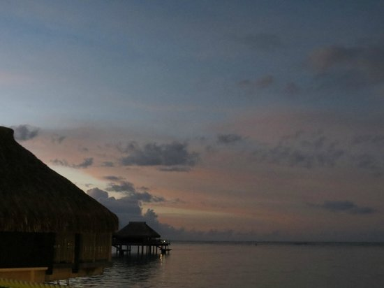Toatea Creperie & Bar : sunset