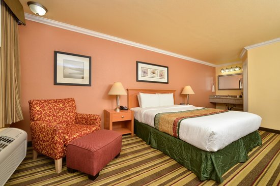 Americas Best Value Inn & Suites - San Francisco Airport: One King Bed Room