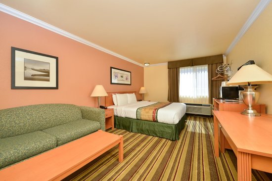 Americas Best Value Inn & Suites - San Francisco Airport: One King Bed Room Deluxe