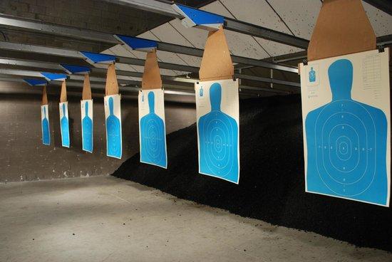 Stone Hart's Gun Club & Indoor Range: In the range