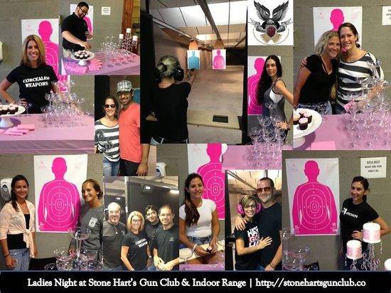 Stone Hart's Gun Club & Indoor Range: Ladies Night on Mondays