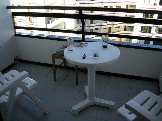 Hotel Green Field: балкон