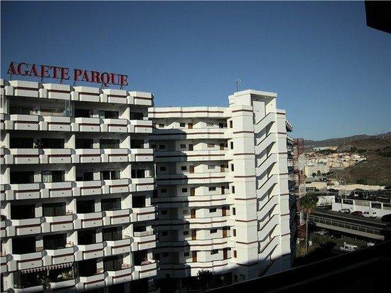 Hotel Green Field : вид с балкона