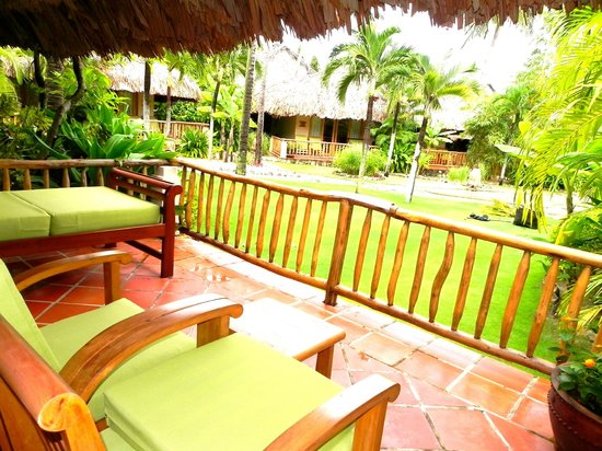 Mia Resort Mui Ne: gran terraza