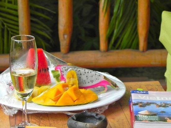 Mia Resort Mui Ne: detalle de frutas